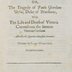 The White Devil Play by John Webster
