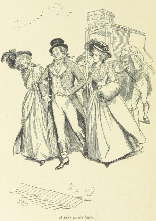 Jane Austen Sense and Sensibility - A very smart beau