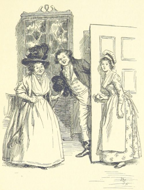 Jane Austen Sense and Sensibility - Came to take a survey of the guest