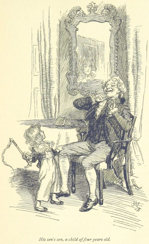 Jane Austen Sense and Sensibility - His son's son, a child of four years old