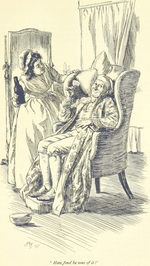 Jane Austen Sense and Sensibility - How fond he was of it!