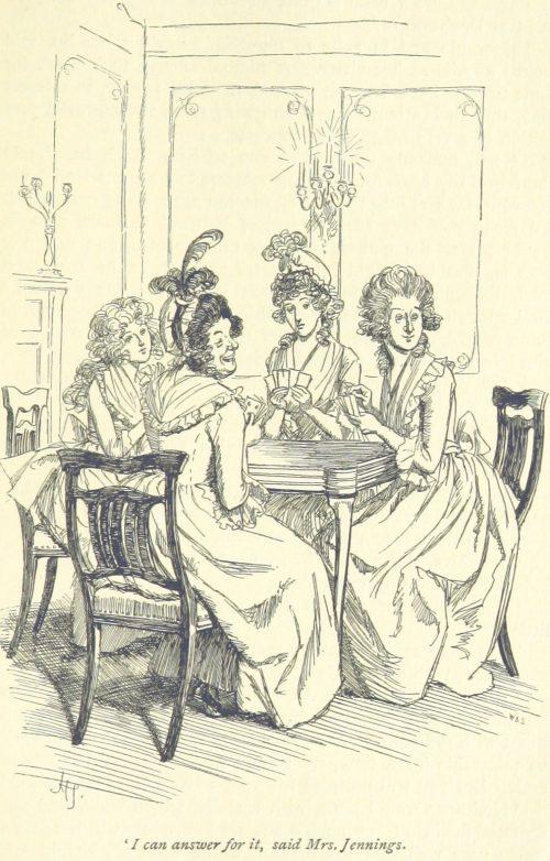 Jane Austen Sense and Sensibility - I can answer for it, said Mrs. Jennings