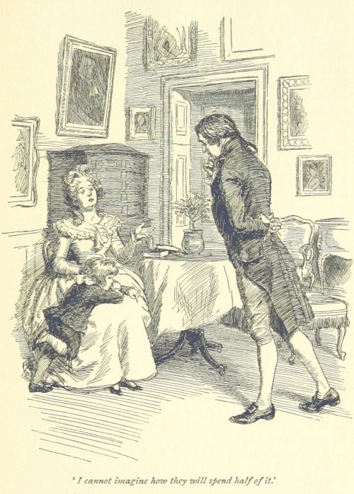 Jane Austen Sense and Sensibility - I cannot imagine how they will spend half of it