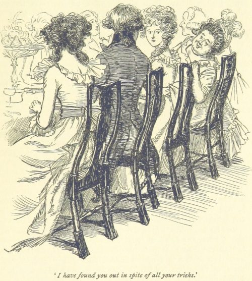 Jane Austen Sense and Sensibility - I have found you out in spite of all your tricks