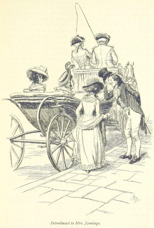 Jane Austen Sense and Sensibility - Introduced to Mrs. Jennings