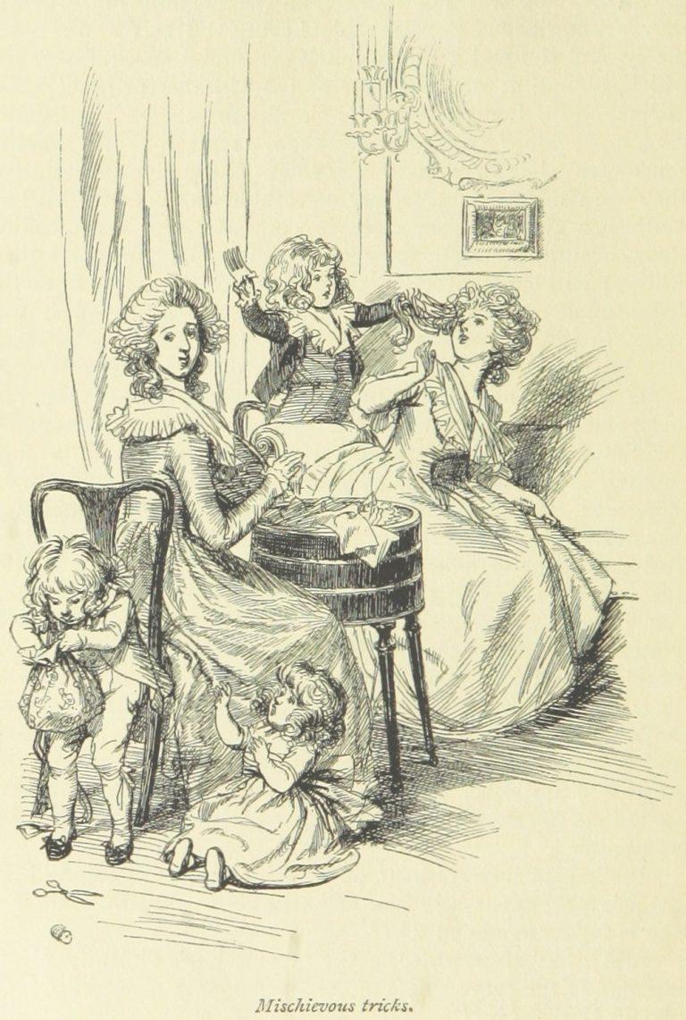 Jane Austen Sense and Sensibility - Mischievous tricks