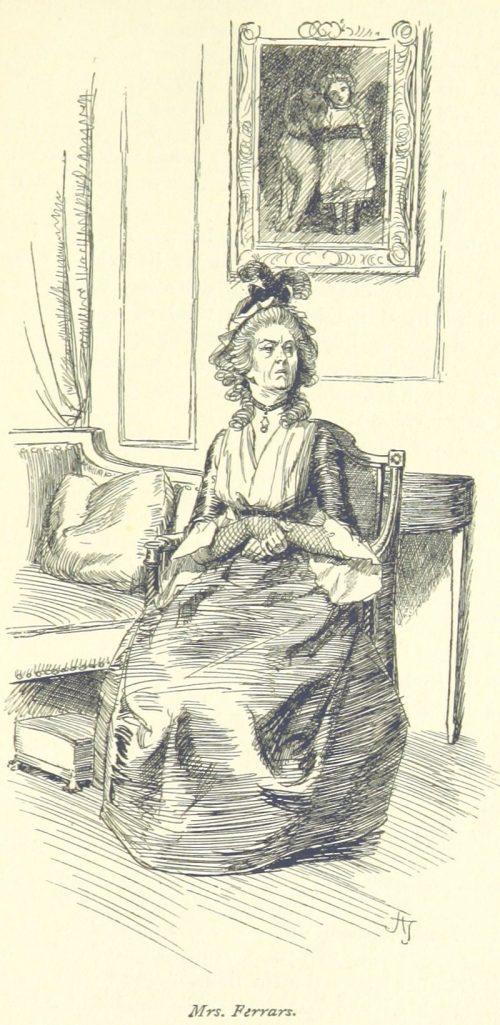 Jane Austen Sense and Sensibility - Mrs. Ferrars