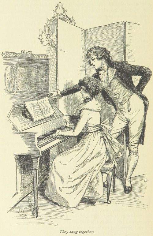 Jane Austen Sense and Sensibility - They sang together