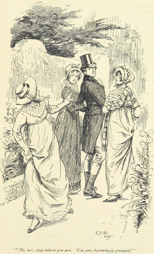 Jane Austen Pride and Prejudice - No, no stay where you are. You are charmingly group'd