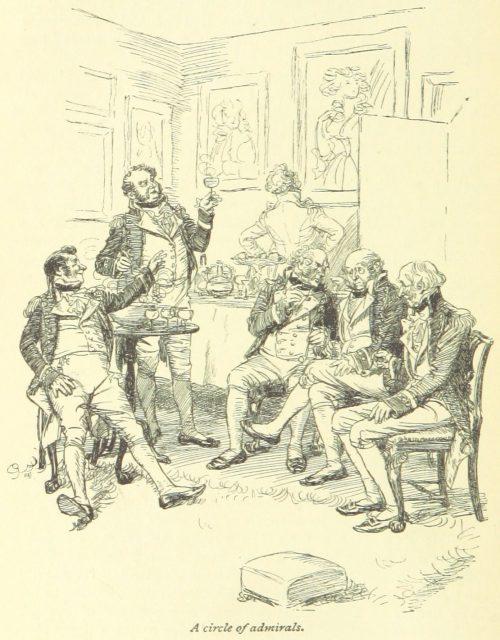 Jane Austen Mansfield Park - a circle of admirals