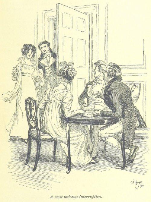 Jane Austen Mansfield Park - a most welcome interruption