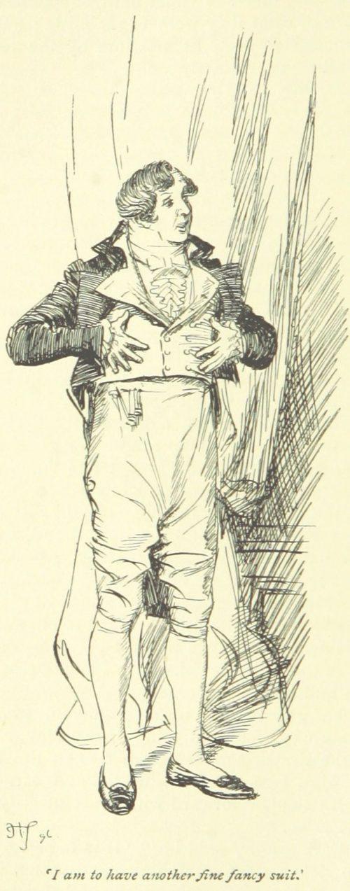 Jane Austen Mansfield Park - I am to have another fine fancy suit
