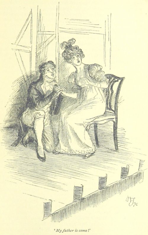 Jane Austen Mansfield Park - My father is come!