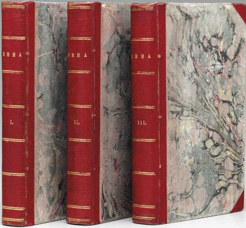 Jane Austen Emma Book cover