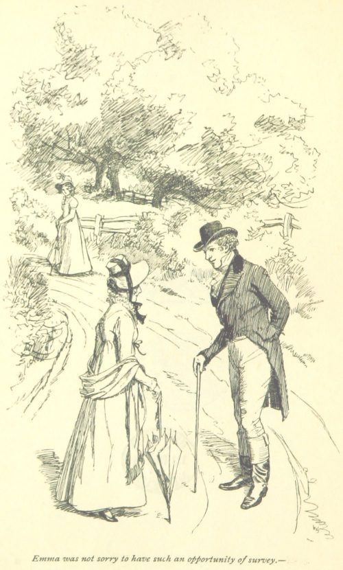 Jane Austen Emma - Emma was not sorry to have such an opportunity of survey