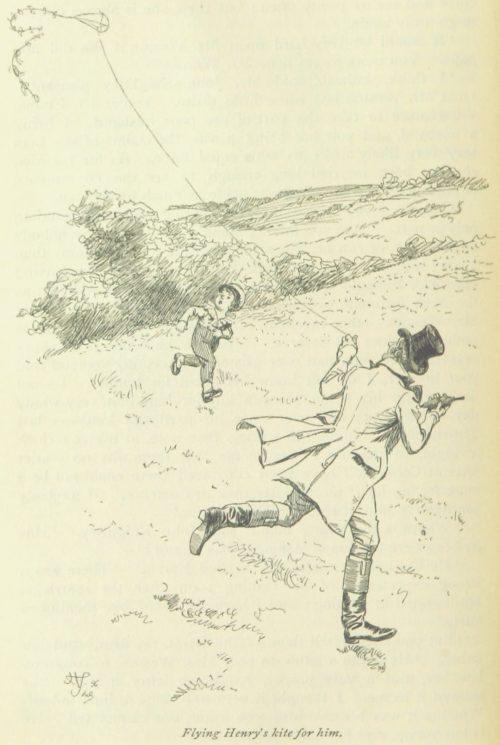 Jane Austen Emma - flying Henry's kite for him