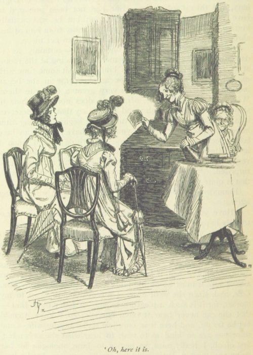 Jane Austen Emma - Oh, here it is