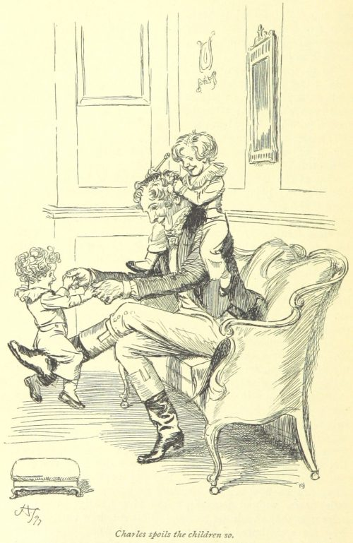 Jane Austen Persuasion - Charles spoils the children so