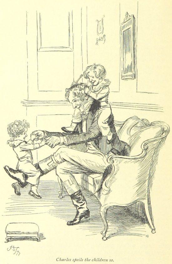 Jane Austen Persuasion - Charles spoils the children so