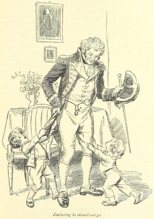 Jane Austen Persuasion - declaring he should not go