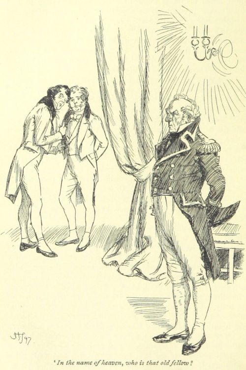 Jane Austen Persuasion - In the name of heaven, who is that old fellow?