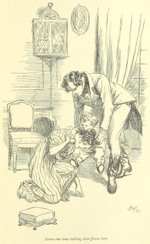 Jane Austen Persuasion - some one was taking him from her