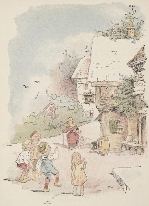 The Storks Fairy Tale by Hans Christian Andersen