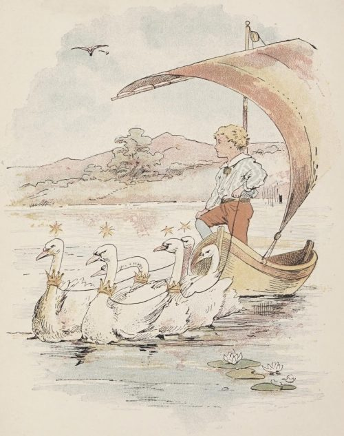 Ole-Luk-Oie, the Dream God Fairy Tale by Hans Christian Andersen - Hjalmar sailed by