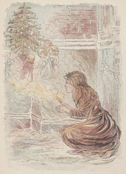 The Little Match-Seller Fairy Tale by Hans Christian Andersen