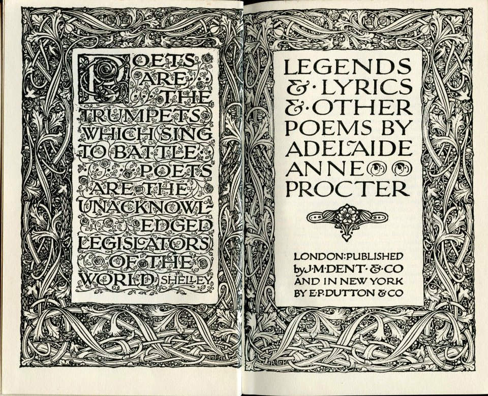 Legends and Lyrics First Series by Adelaide Anne Procter