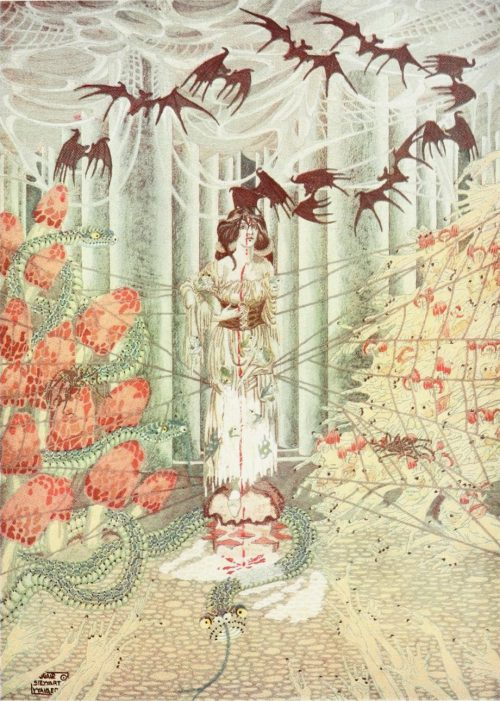 The Girl Who Trod on the Loaf Fairy Tale by Hans Christian Andersen