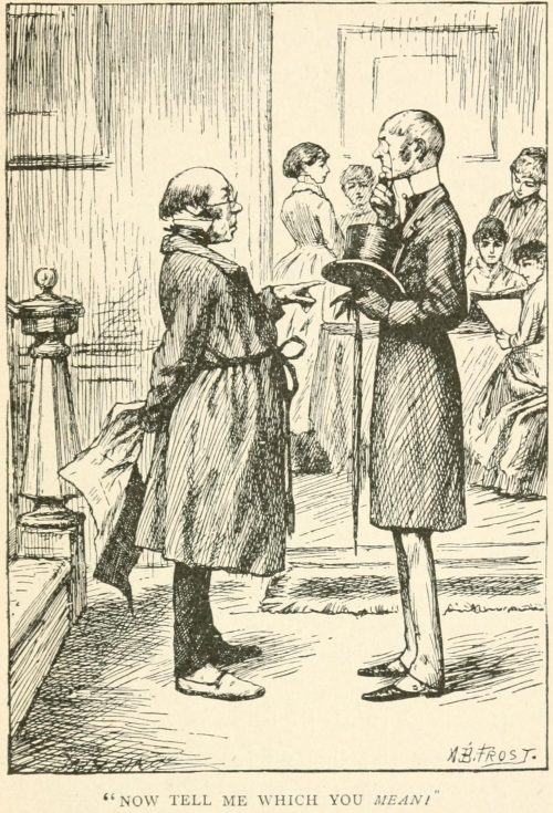 A Game of Fives Poem - Now tell me which you mean Illustration by Arthur B. Frost