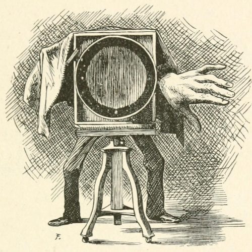 Hiawatha's Photographing Poem - The camera Illustration by Arthur B. Frost