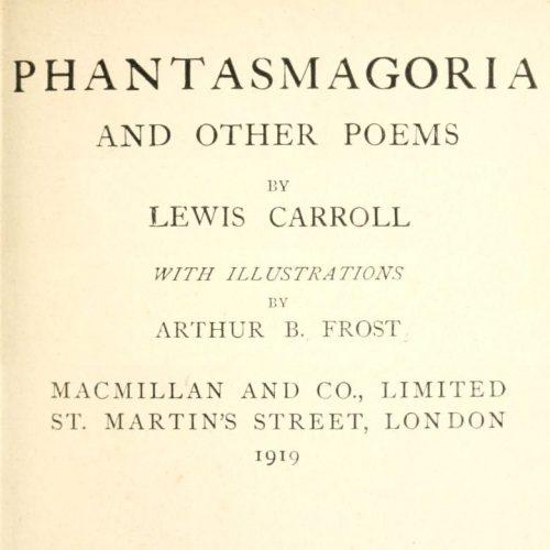 Lewis Carroll A Valentine Poem