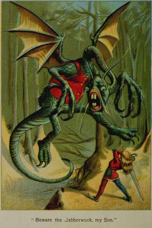 Jabberwocky Illustration by John Tenniel