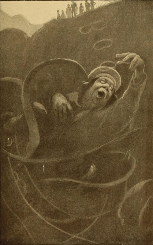 The Hunting of The Snark Poem - In the midst of his laughter and glee Illustration by Peter Newell
