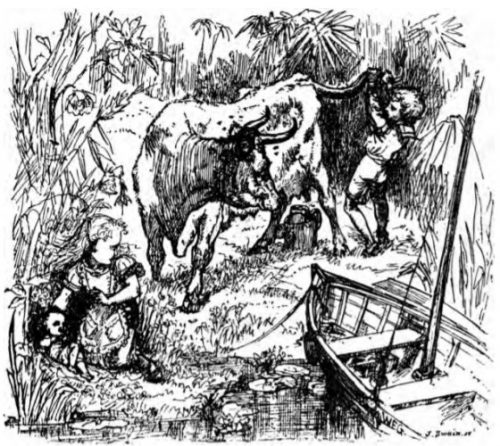 The Wondrous Child - That is not the way to milk a cow