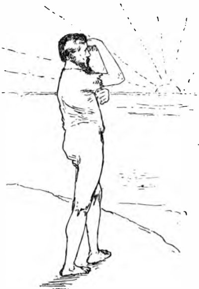 The Shadow Builder - he watches from the mountain top for a ship to come