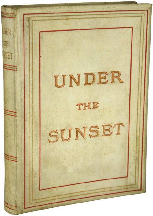 Under the Sunset Book Cover by Bram Stoker