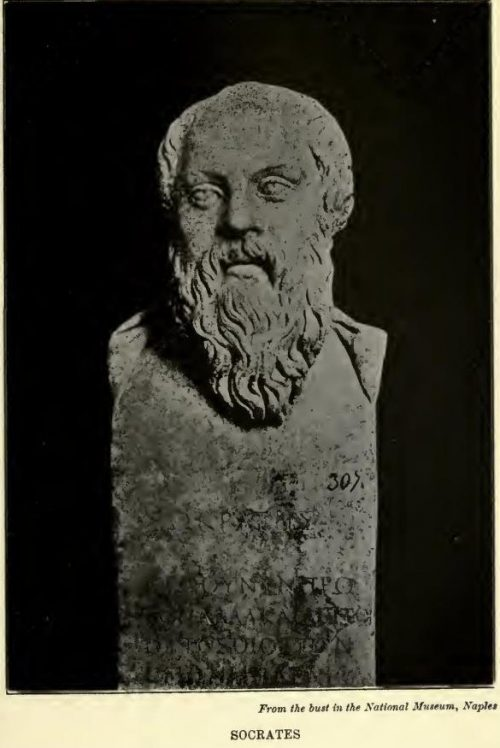 Socrates From the bust in the National Museum, Naples