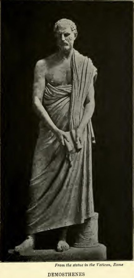 Demosthenes From The Statue In The Vatican Rome