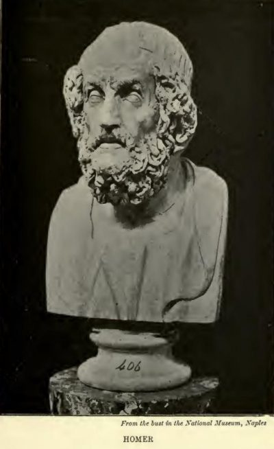 Homer From The Bust In The National Museum, Naples