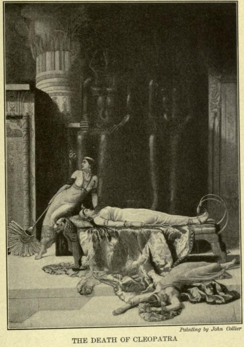 Death of Cleopatra After the painting by John Collier