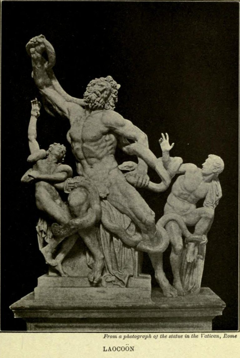 The Laocoön After the photograph from the statue in the Vatican, Rome