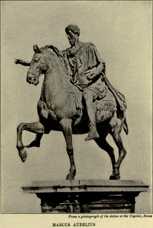 Marcus Aurelius. From a photograph of the statue at the Capitol, Rome