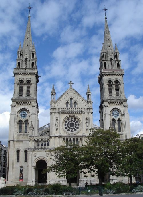 Church of St. Ambroise from a photograph, Paris