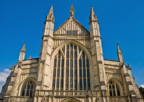 Winchester Cathedral From a photograph