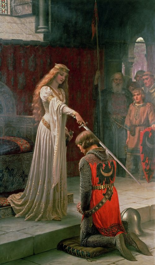 The Accolade After the painting by Sir E. Blair Leighton