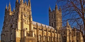 Canterbury Cathedral From a photograph