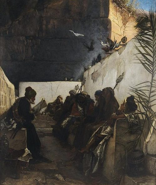 A Reading from the Koran After the painting by W. Gentz